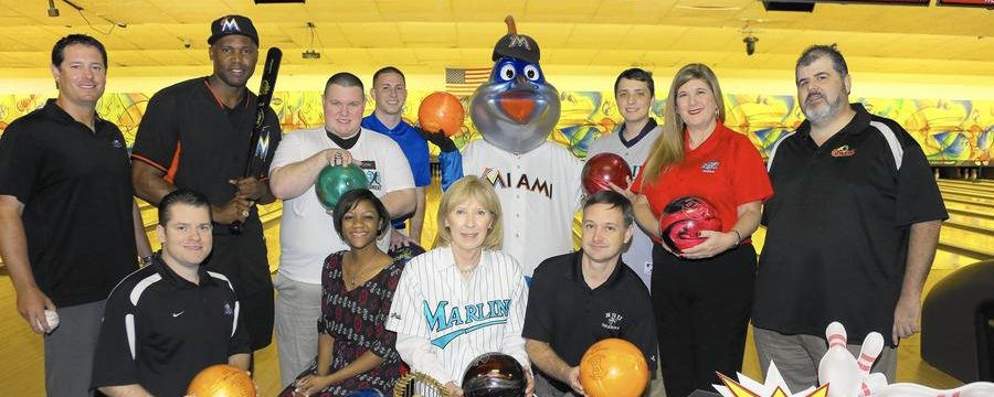 Professional athletes aim for strikes at Charity Bowling Tournament