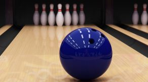 aim the bowling ball