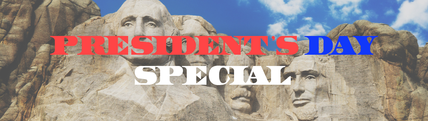 President's Day Special Banner