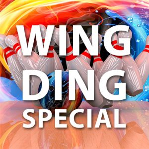 wing ding specials for a celebration or party